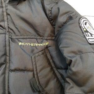 Weatherproof Jackets & Coats - WeatherProof pocketed black puffer hooded coat